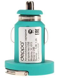 Сетевое + автомобильное зарядное устройство Deppa Ultra Colour 11161