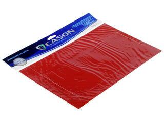 Виниловая наклейка красный карбон
