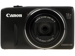 Компактная камера Canon PowerShot SX600 HS черный