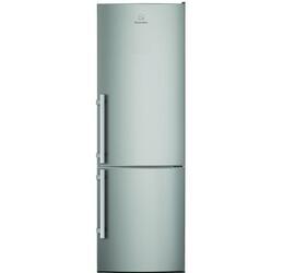 Холодильник с морозильником Electrolux EN3450AOX серебристый