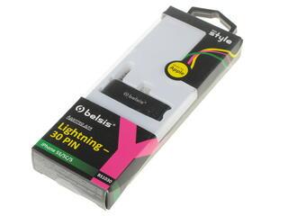 Переходник Belsis BS1030 30-pin - Lightning 8-pin черный