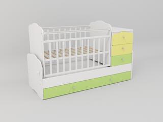 Кроватка-трансформер СКВ-9 930033