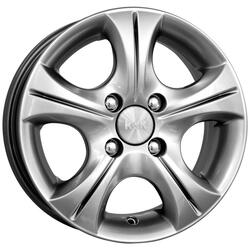 Автомобильный диск Литой K&K Реверс 5,5x13 4/98 ET 38 DIA 58,6 Сильвер