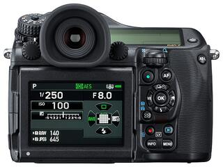 Зеркальная камера Pentax 645Z Body черный