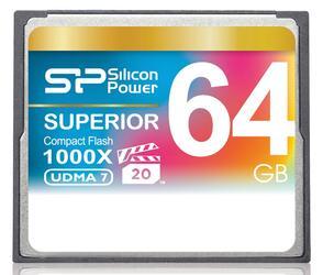 Память Silicon Power (CF) 64 Gb 1000x