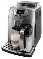 Кофемашина Saeco HD 8754 серебристый
