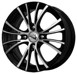 Автомобильный диск литой iFree Вольтер 6x15 4/100 ET 45 DIA 56,6 Блэк Джек