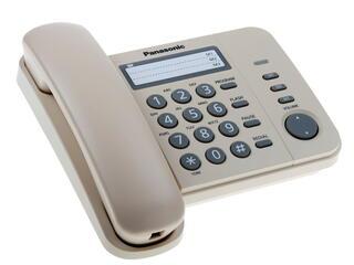 Телефон проводной Panasonic KX-TS2352RUJ