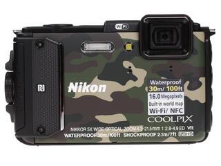 Компактная камера Nikon Coolpix AW130 хаки