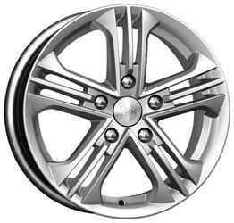Автомобильный диск Литой K&K Trinity 6x15 5/114,3 ET 39 DIA 60,1 Блэк платинум