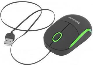 Мышь беспроводная Defender Discovery MS-630 черный+зеленый USB