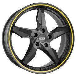 Автомобильный диск Литой Dotz Touge 8x19 5/112 ET 45 DIA 70,1 Graphite