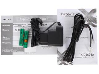 Телефон беспроводной (DECT) teXet TX-D6605А