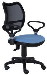 Кресло офисное Бюрократ CH-799AXSN голубой
