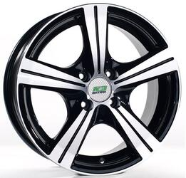Автомобильный диск литой Nitro Y146 6x14 4/100 ET 35 DIA 73,1 BFP