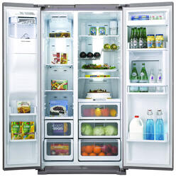 Холодильник Samsung RSH7ZNSL серебристый