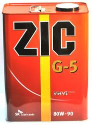 Трансмиссионное масло ZIC G-5 ЕРХ 80W90