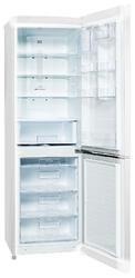 Холодильник с морозильником LG GC-B409SVCA белый
