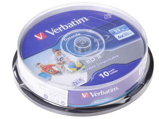 Диск Verbatim BD-R 25Gb