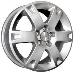 Автомобильный диск Литой K&K КС238 6,5x16 5/100 ET 45 DIA 54,1 Сильвер