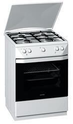 Газовая плита Gorenje G 61124 BW белый