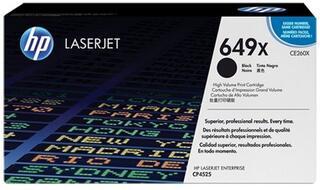 Картридж лазерный HP 649X (CE260X)