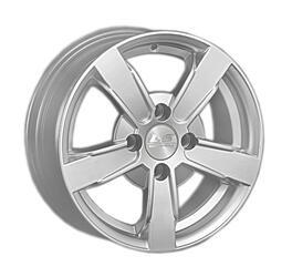 Автомобильный диск Литой LS NG681 5,5x13 4/98 ET 35 DIA 58,6 Sil