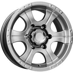Автомобильный диск литой K&K Байконур 8x16 5/139,7 ET -15 DIA 110,1 Блэк платинум