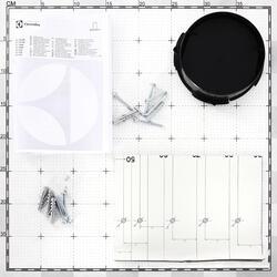 Вытяжка подвесная Electrolux EFT 535 X серебристый