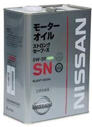 Моторное масло Nissan (Orig.Japan) Extra Save X 0W20 KLAN8-00204