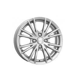 Автомобильный диск Литой K&K Нейтрино 6x15 4/100 ET 45 DIA 60,1 Сильвер