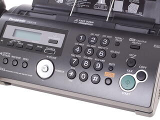 Факс Panasonic KX-FC278RUT