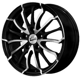 Автомобильный диск литой iFree Фриман 7x17 5/114,3 ET 38 DIA 66,1 Блэк Джек