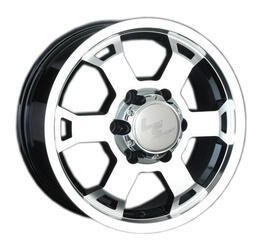 Автомобильный диск Литой LS 326 7x16 6/139,7 ET 38 DIA 100,1 BKF