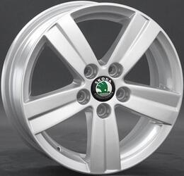 Автомобильный диск литой Replay SK33 6x15 5/100 ET 38 DIA 57,1 Sil