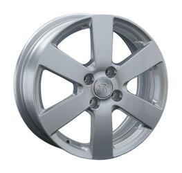 Автомобильный диск литой Replay OPL58 6x15 4/100 ET 43 DIA 56,6 Sil