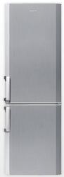 Холодильник с морозильником BEKO CS334020T серебристый