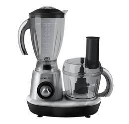Кухонный комбайн Scarlett SC-140 Серебро с черным