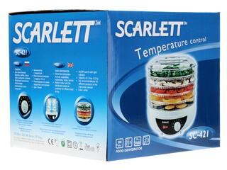 Сушилка для овощей и фруктов Scarlett SC-421 Белый