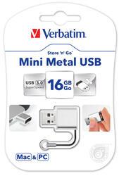 Память USB Flash Verbatim Mini Metal 16 Гб
