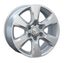 Автомобильный диск Литой Replay TY68 7,5x18 6/139,7 ET 25 DIA 106,1 Sil