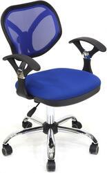 Кресло офисное Chairman 380 синий