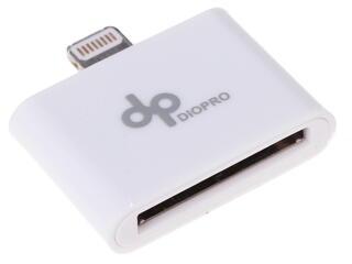 Переходник DIOPRO VAP-CBL5005 30-pin - Lightning 8-pin белый