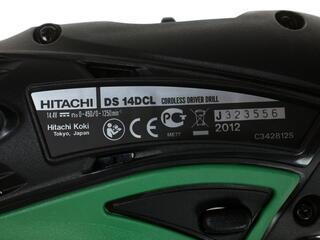 Шуруповерт Hitachi DS14DCL-RA