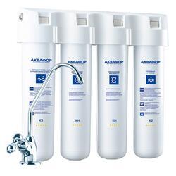 Проточный фильтр для воды Аквафор Кристалл-Квадро 2Н