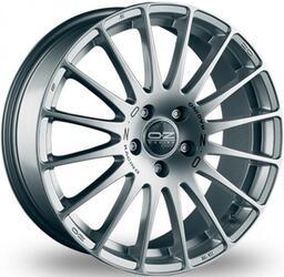 Автомобильный диск Литой OZ Racing Superturismo GT 7,5x17 5/114,3 ET 50 DIA 75 Grigio Corsa + Blue