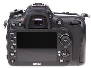 Зеркальная камера Nikon D7200 Body черный