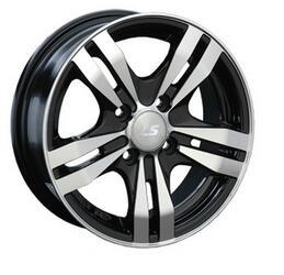 Автомобильный диск Литой LS 142 6x14 4/98 ET 35 DIA 58,6 BKF