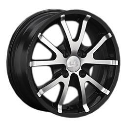 Автомобильный диск Литой LS 106 6x14 4/108 ET 25 DIA 73,1 BKF