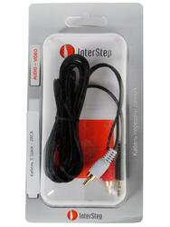Кабель соединительный InterStep 3.5 mm jack - RCA x2